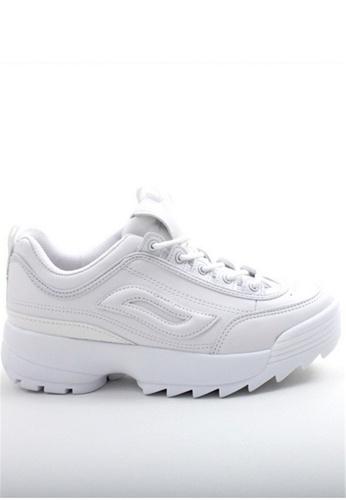 Crystal Korea Fashion white South Korean SS New  Thick Bottom Shoes. 08887SH2DED4B4GS_1