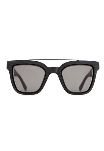 Marshall Eyewear black and grey Lee Black Wood MA266AC67OWMSG_1