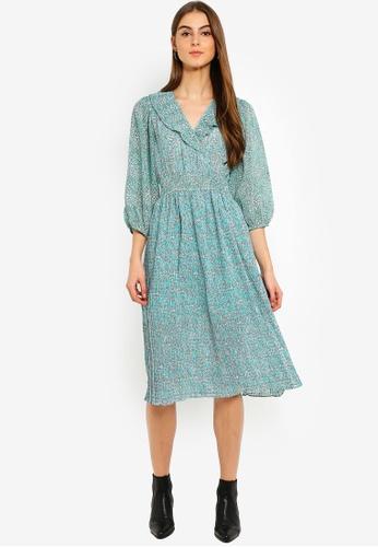 006b970d364f Buy Vero Moda Mathilde 3 4 Calf Dress Online on ZALORA Singapore