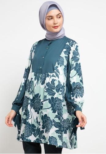 Allea by Itang Yunasz green Jelita Tunik 93AD9AA20A1489GS_1