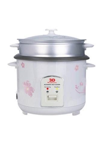 3D white Automatic Rice Cooker 1.5L F5E58HL3DA9256GS_1