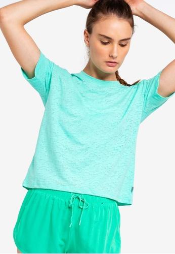 Cotton On Body green Boxy Burnout T-Shirt 0F6EEAA175EABCGS_1