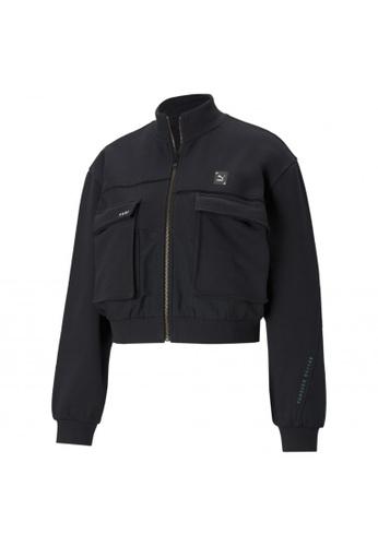 PUMA grey PUMA RE.GEN Cropped Women's Jacket 8FE98AA989E86BGS_1