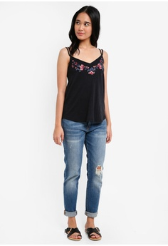 cf533b89a36df Abercrombie   Fitch Bare Embroidered Cami Top S  64.00 NOW S  31.90 Sizes  XS S M L