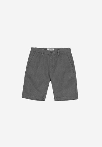 "FOREST grey Forest 19/20"" Full Print Bermuda Shorts Pants Men - Seluar Pendek Lelaki - 70526 - 04Grey BD537AAB9700D7GS_1"