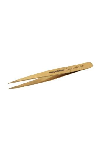 Tweezerman gold Tweezerman Ultra Precision Point Tweezer TW456BE79RBOSG_1