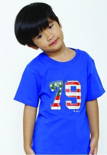 YEGE blue YeGe T'shirt Anak Polos Biru BAEC1KAC3E4549GS_1