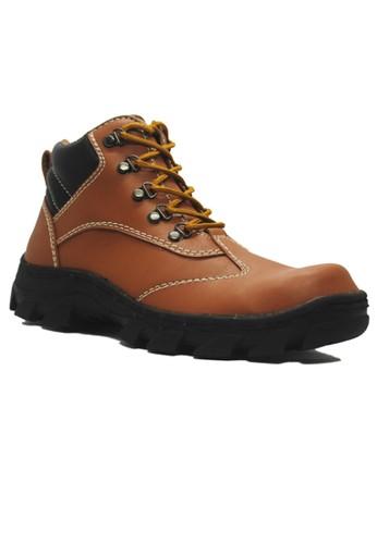 Cut Engineer brown Cut Engineer Safety Boots Alcmaeon Leather Soft Brown CU226SH90XYRID_1