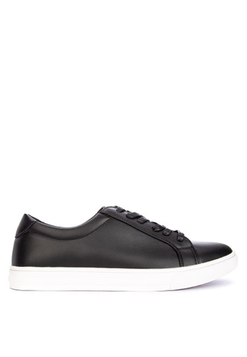 BENCH black Plain Lace Up Sneakers 6A5F9SHB622754GS_1