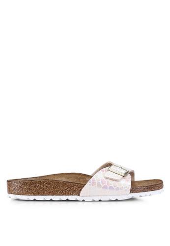fc75e4c6ad59 Shop Birkenstock Madrid Shiny Snake Sandals Online on ZALORA Philippines