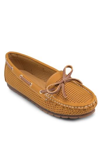 沖孔船型鞋, 女鞋, 船esprit地址型鞋