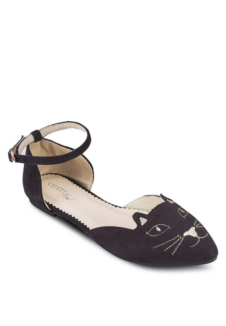 Play! Kittie Flats with Ankle Strap