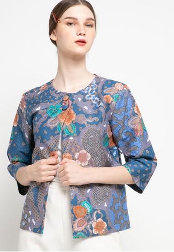 bhatara batik blue and multi TASYA A849DAA4C2A498GS_1