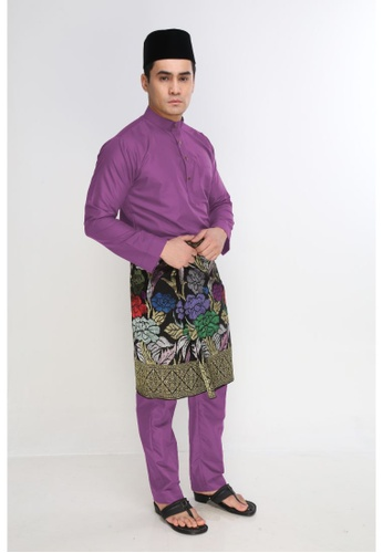 Amar Amran purple Baju Melayu Moden 2F241AAA3BB45FGS_1