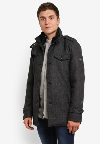 Indicode Jeans grey Brandan Heavy Hunter's Coat IN815AA0RHQQMY_1