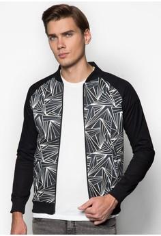 Printed Varsity Jacket