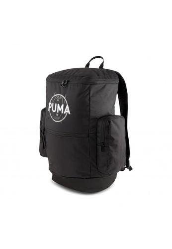 PUMA black Basketball Backpack 8F612AC860367AGS_1