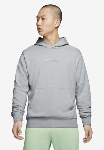 Nike black and grey Men's Sportswear JDI Wash Hoodie DB489AAD6A154AGS_1