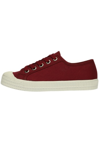 paperplanes Paperplanes-1350 Casual Low Top Flats Canvas Sneakers Shoes US Women Size PA110SH27ZZKHK_1