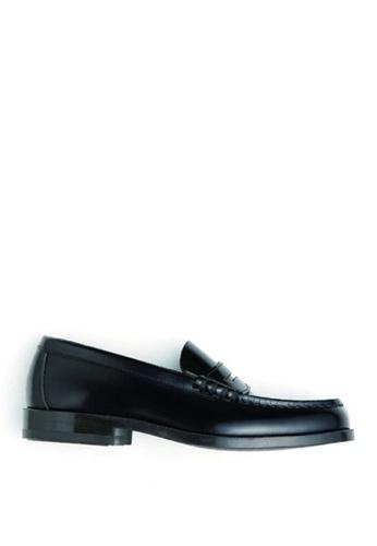 HARUTA 黑色 男裝經典樂福皮鞋-906 044CCSH9B09F9CGS_1
