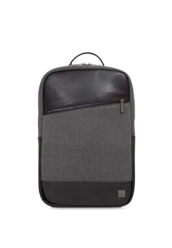 "knomo grey Southampton 15.6"" Laptop Backpack (Grey) D9C8BAC9C43301GS_1"