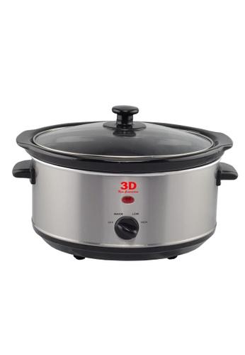 3D black Slow Cooker 3.5L 8B13CHL5DCECD7GS_1