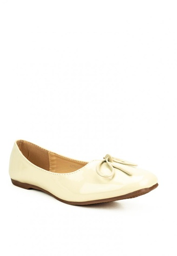 Mario D' boro Runway beige Bicky Flat Shoes F4360SH37511C1GS_1