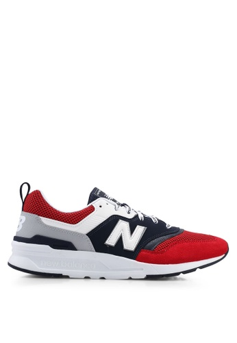 New Balance red and multi 997H Lifestyle Shoes 7033ESHCCDCC69GS_1