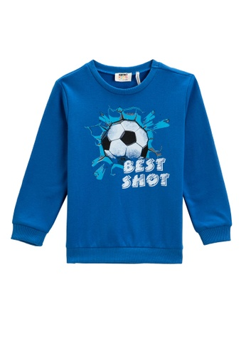 KOTON blue Sweatshirt For Boys 109BBKAFC7DBB5GS_1