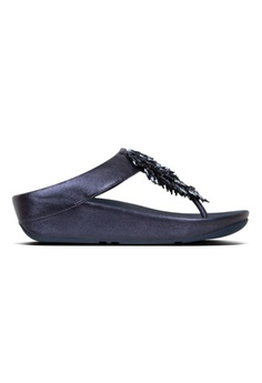 335ae3be41a FitFlop blue Fitflop Rumba Toe-Thong Sandals Midnight Navy  FCA8BSHF1B5CF1GS 1
