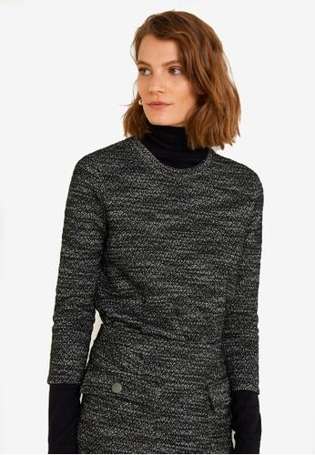 Mango grey Flecked Cotton-Blend Sweatshirt E80D0AA7CEE727GS_1