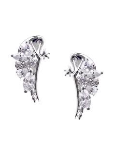 Hansika Silver Earrings