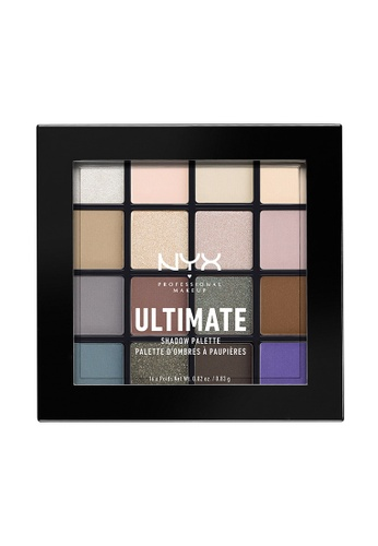NYX Professional MakeUp multi NYX PROFESSIONAL MAKEUP Ultimate Eyeshadow Palette Cool Neutrals NY716BE0SIC3MY_1