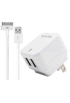 Dual Fast Charger for iPhone 4/4s