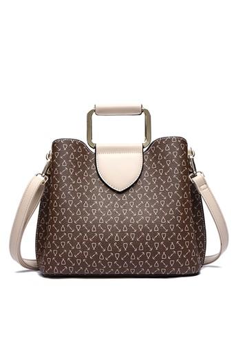 HANA brown HANA Nikki Sling Bag CBE06AC4ECC860GS_1