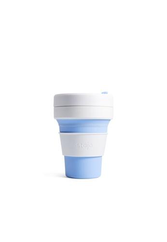 Stojo stojo pocket cup 12oz / 355ml, Sky 77A06HL8921C50GS_1