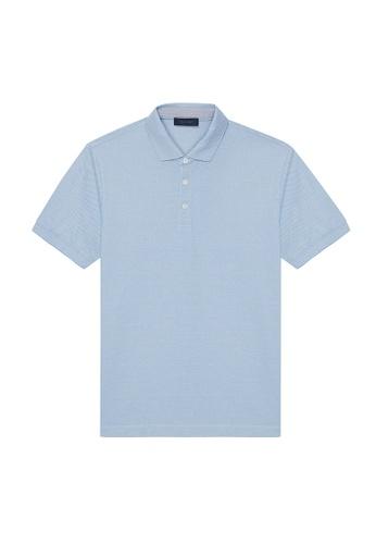 D'urban green Short Sleeve Polo Shirt 51F07AA6B7B8CBGS_1