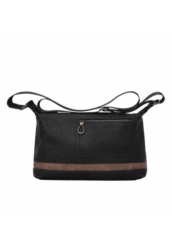 Lara black Zipper Cross Body Bag - Black E6C3DAC8C199CEGS_1