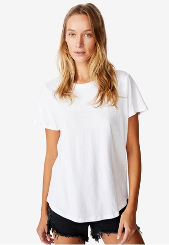Cotton On white The One Crew Tee C1356AAE97D761GS_1
