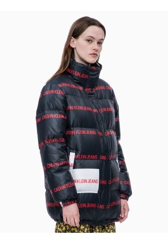 433e0d29a9edca Buy Calvin Klein Calvin Klein Multi-logo Puffer Jacket Online on ZALORA  Singapore