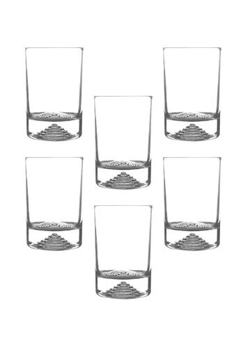 Union Glass n/a Thailand Premium Clear Glass Rock Glass Water, Juice, Soda, Liquor Glass 180ml -6oz Set of 6 CF297HLE0D00E8GS_1
