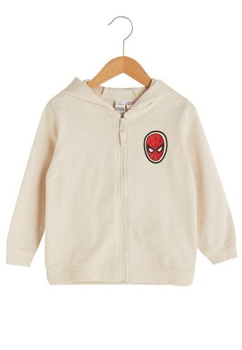 LC Waikiki beige Boy Zipper Sweatshirt 3376CKAA680606GS_1