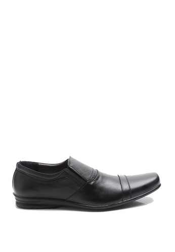 Dr. Kevin black Dr. Kevin Men Dress & Bussiness Formal Shoes 13295 - Black DR982SH0UMT3ID_1