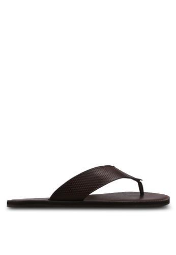 ALDO brown Ceastun Flip-Flops 5FA9ASH2B61AE4GS_1
