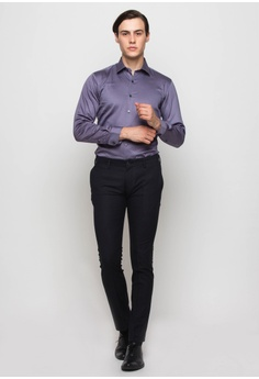 d7360e68297 20% OFF The Executive Basic Long Sleeve Shirt RM 119.00 NOW RM 95.20 Sizes  15 in 15.5 in 16 in 16.5 in 17 in