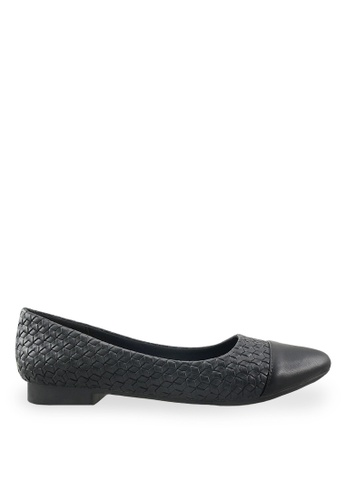 Footspot black FOOTSPOT - Pointed Toe Flats FO296SH79ZUEHK_1