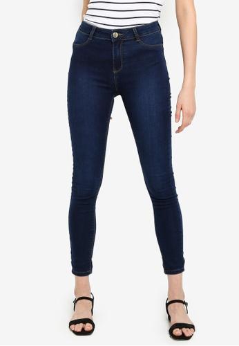 d01ba0b6a10d9c Dorothy Perkins blue Indigo Frankie Super Skinny Jeans 654EDAA0409598GS_1