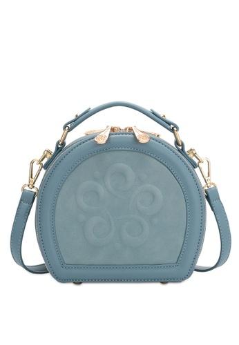 Wild Channel blue Women's Sling Bag / Shoulder Bag / Crossbody Bag 8837CACE912F7DGS_1