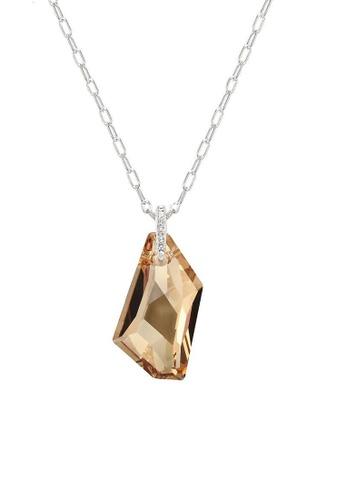 ADORA multi Swarovski Big Stone Pendent Necklace A6824AC6EF74C0GS_1