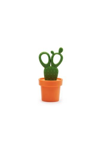Qualy Cactus Scissors (Orange/Green) 13003HL9C4C2C0GS_1